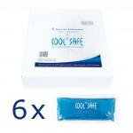 Juego de 6 paquetes de gel refrigerante COOL*SAFE